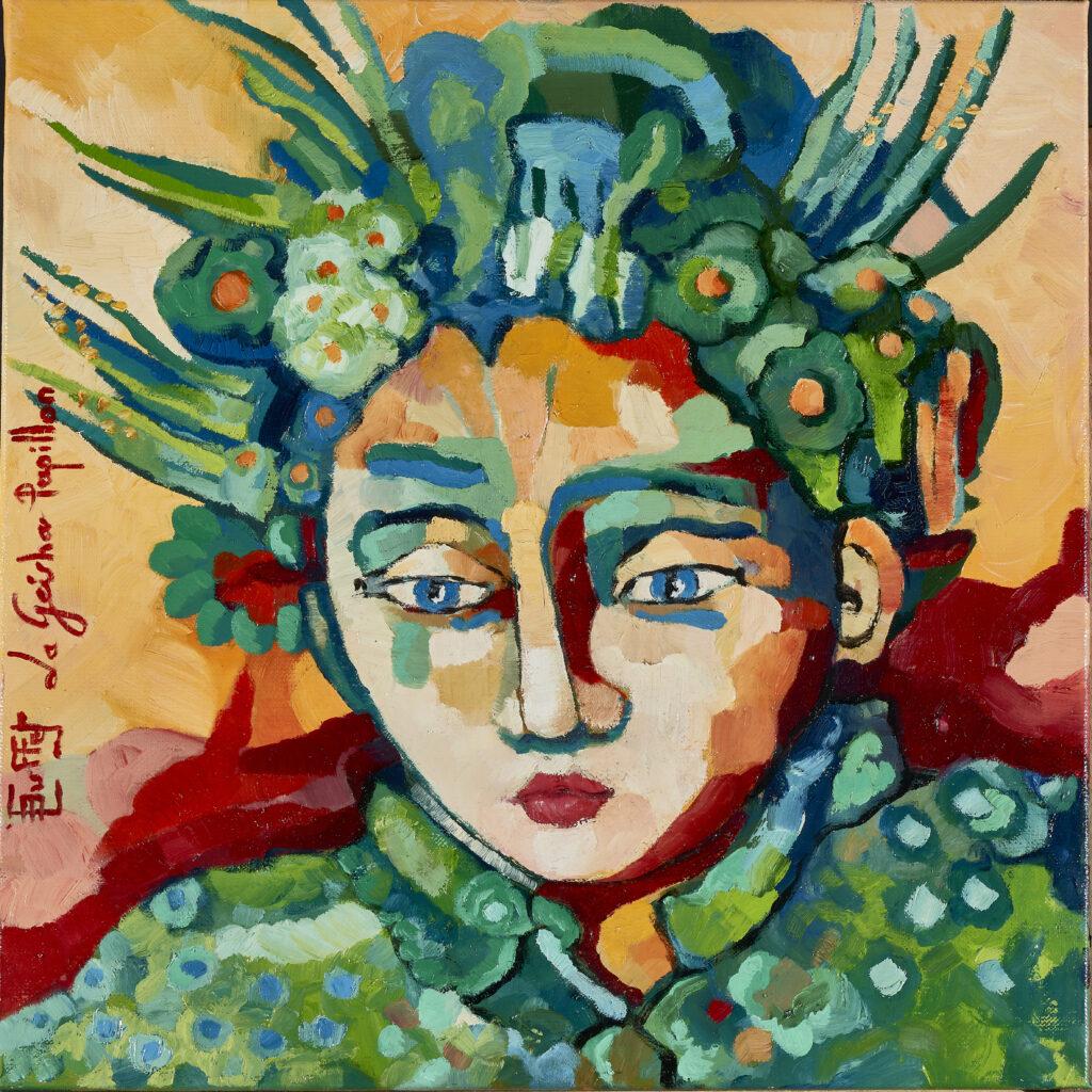 Geisha papillon