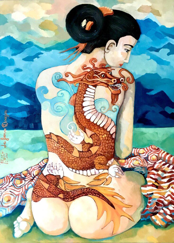 La femme dragon